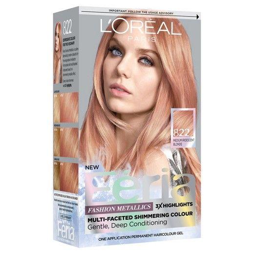 Image Result For L Oreal Paris Feria Fashion Metallics Medium Blonde