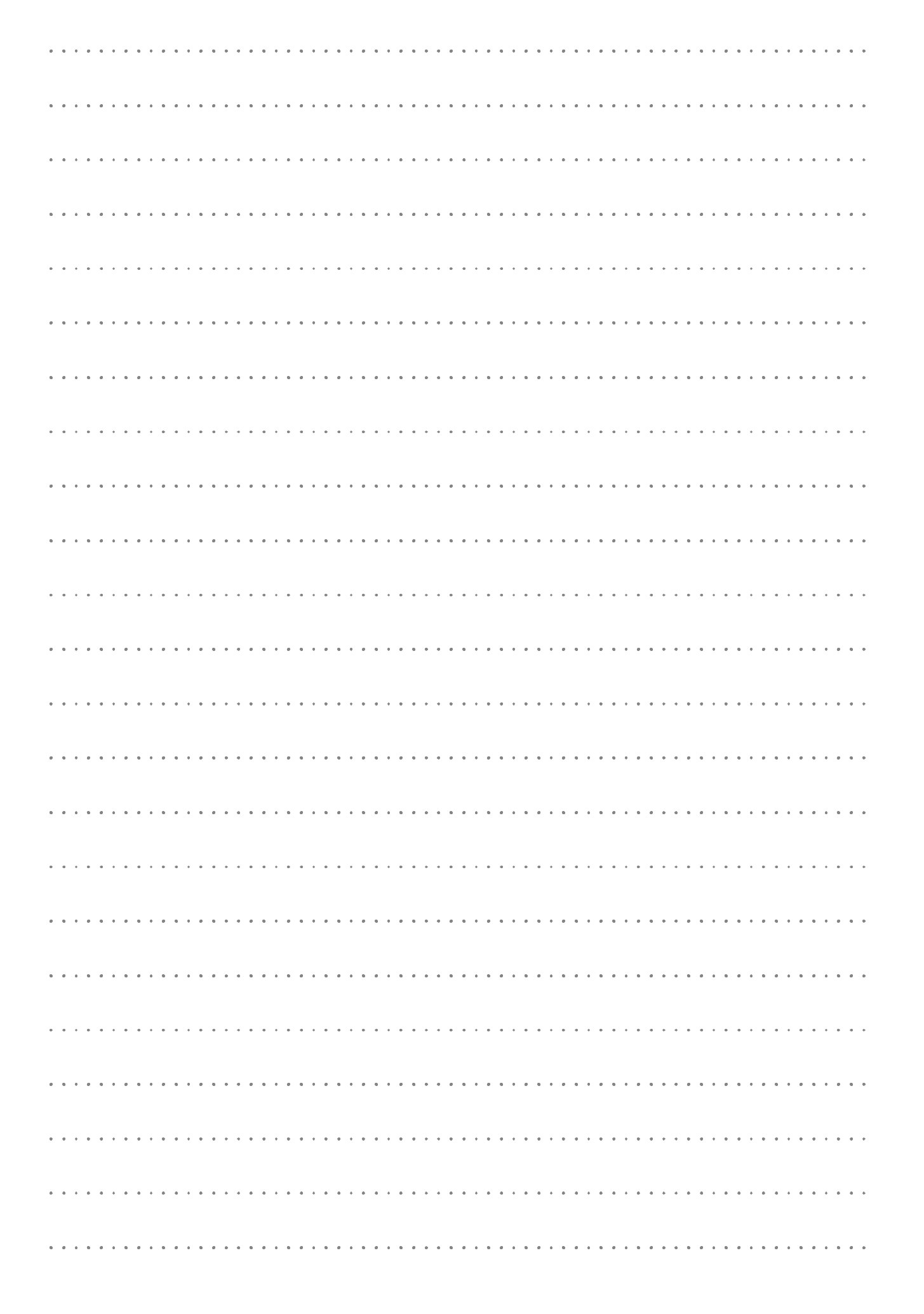 Printable Dotted Lined Paper Printables 8 7 Mm Line Height Pdf Download Lined Paper Free Paper Printables Writing Paper Template