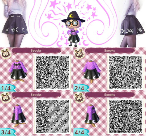 Image Result For Animal Crossing New Leaf Gothic Qr Codes Animal