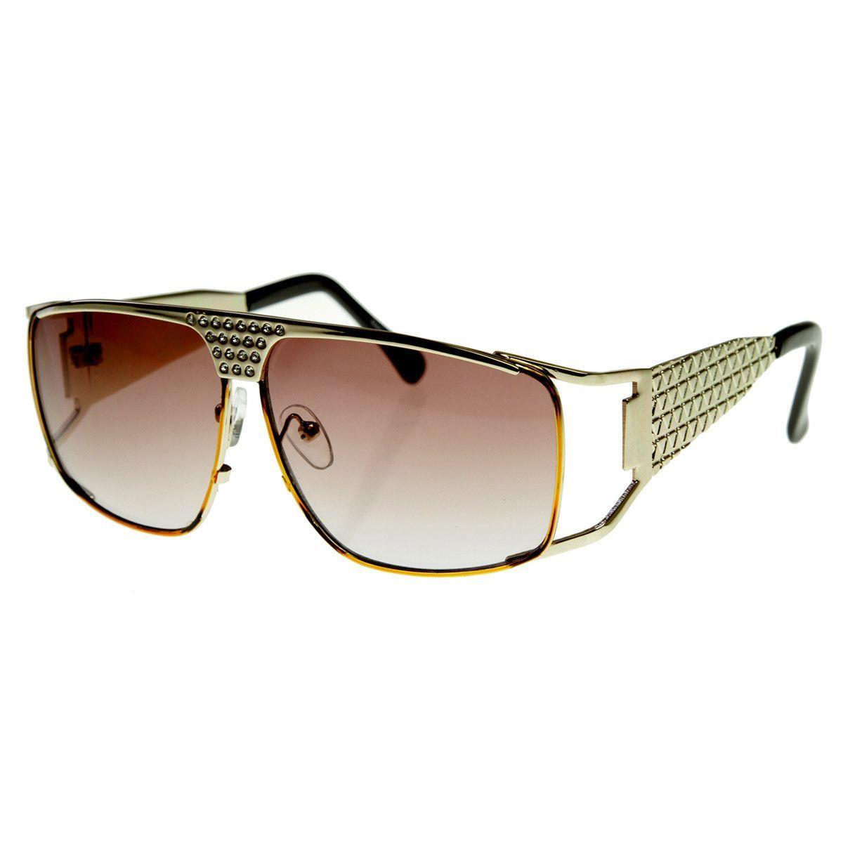 e27efcf30e Large Metal Elvis Style Glasses Sunglasses w  Rhinestones  sunglass  frame   bold  sunglasses  cateye  mirrored  summer  womens  sunglassla  clear