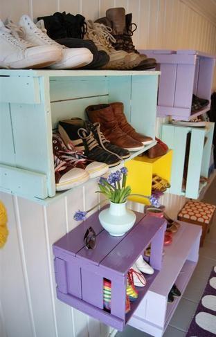 Imagen relacionada LO Pinterest Huacales de madera, Reciclar