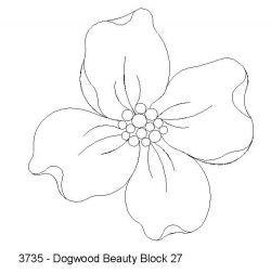 Dogwood Tat Flower Quilt Patterns Felt Flowers Patterns