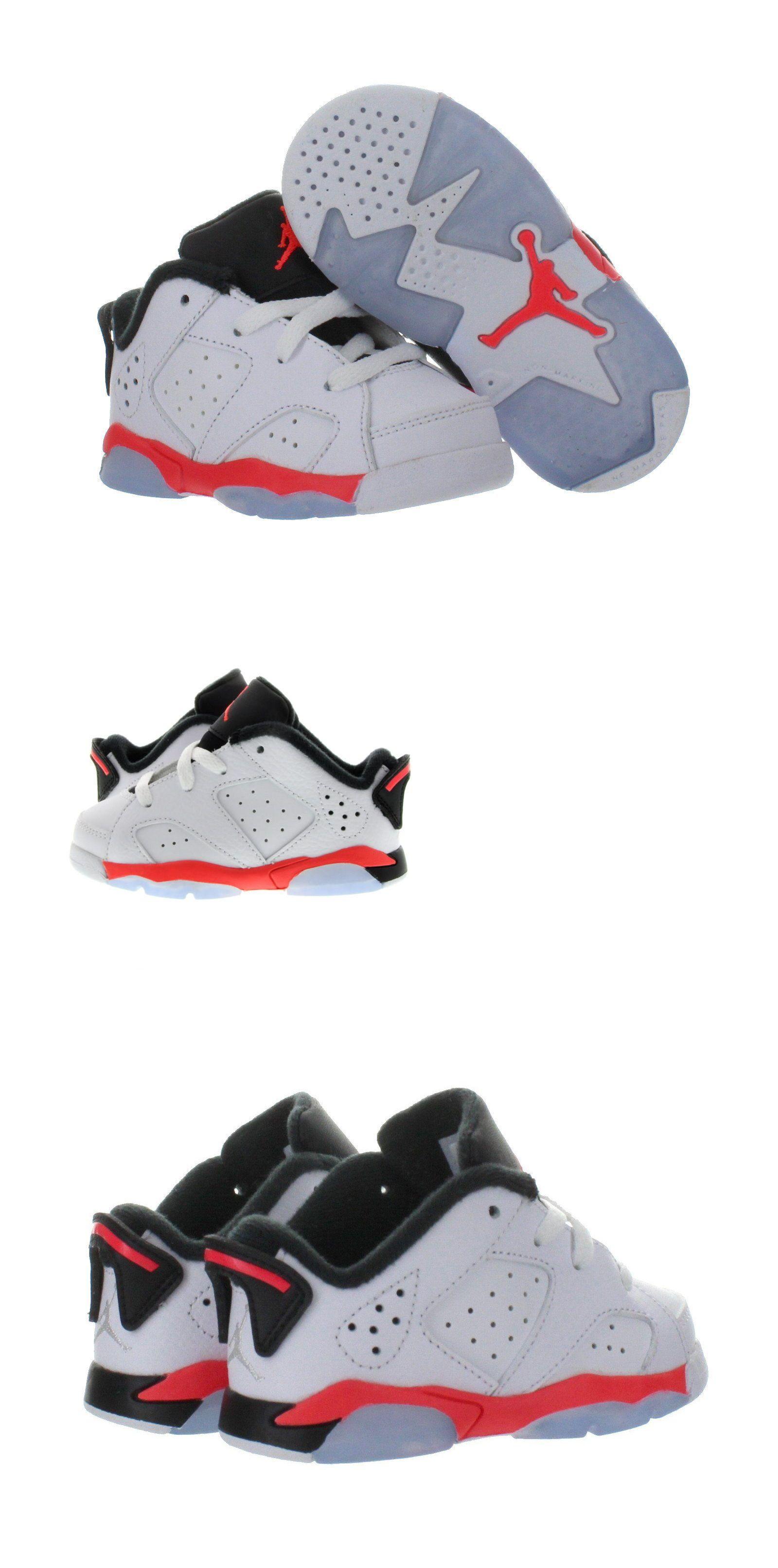timeless design 7488c b61d1 Baby Shoes 147285  Toddler Nike Air Jordan Vi 6 Retro Sneakers New, White  Infrared 768883-123 -  BUY IT NOW ONLY   39.99 on eBay!