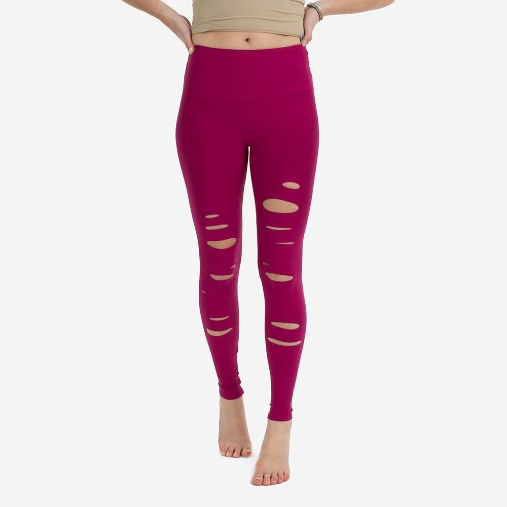 ripped leggings , ripped yoga pants, riptide tights | for the love