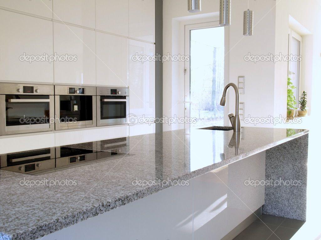 encimera granito cocina moderna - Buscar con Google | Ideas para el ...