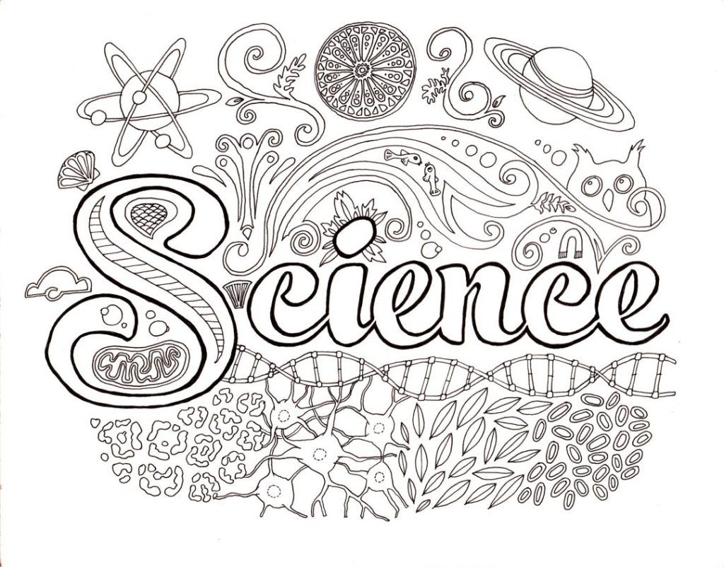 Science Coloring Pages Kindergarten Science Science Notebook