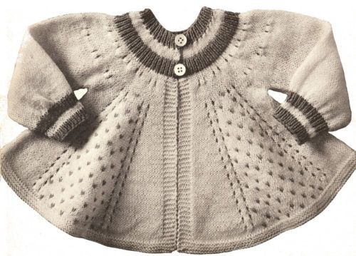 Details About Vintage Knitting Pattern To Make Baby Infant
