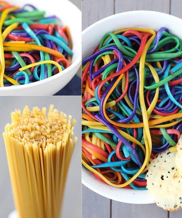 Rainbow Linguini