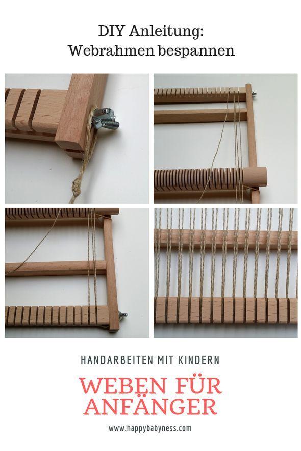Photo of DIY Anleitungen Weben mit dem Schulwebrahmen
