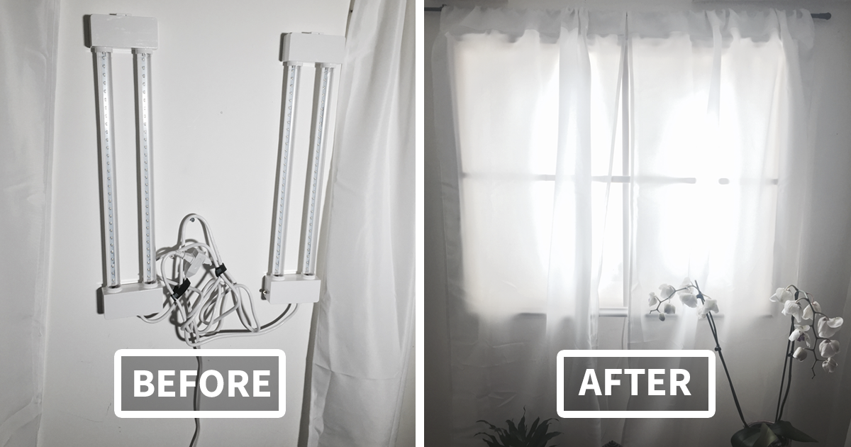 How To Make A Fake Window In Your Basement   Photography products