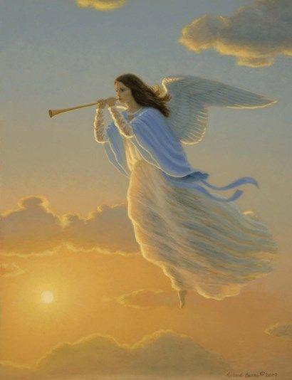Angel Of The Dawn By Richard Burns Angel Artwork Angel Art