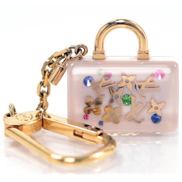 607a83130e32 LOUIS VUITTON Inclusion Speedy Key Chain - Polyvore