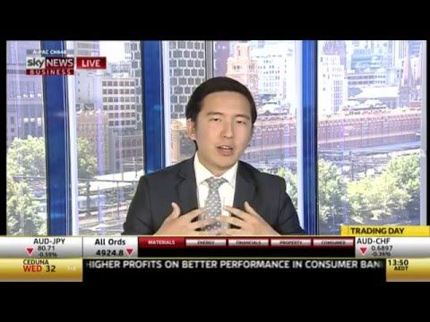 Kate Williams' Sky News Business interview with Bitcoin Group CEO Sam Lee