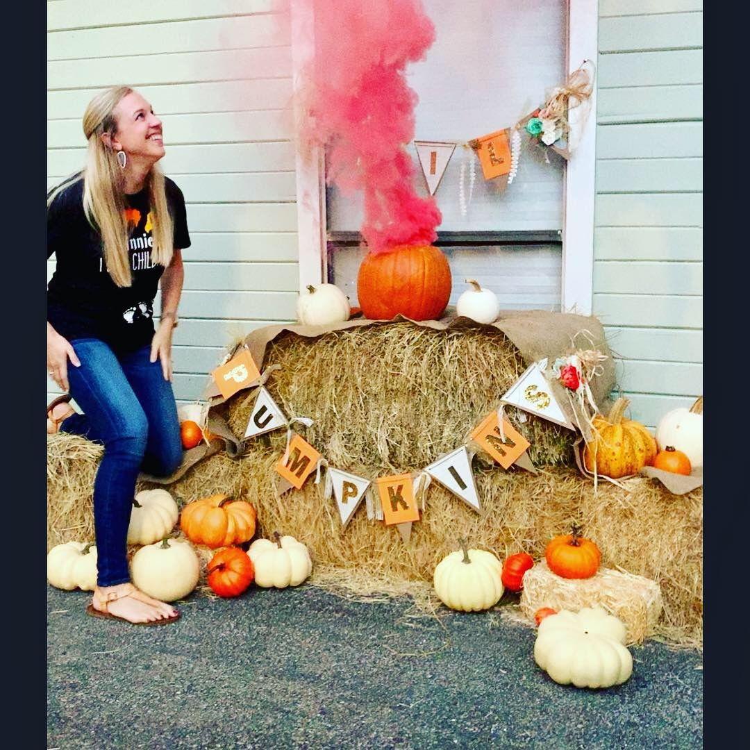 Pumpkin Gender Reveal Halloween Gender Reveal Pumpkin Gender Reveal Fall Gender Reveal