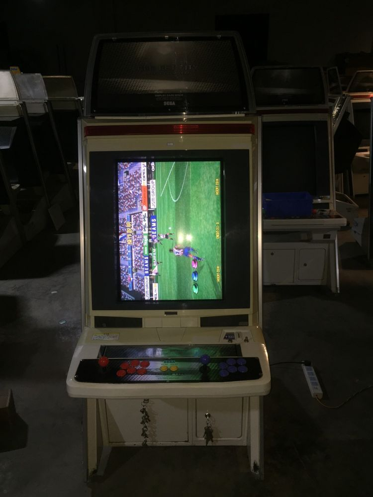 FULL Sega NEW NET CITY Cabinet w/ NAOMI game WORKS #2 (eBay Link