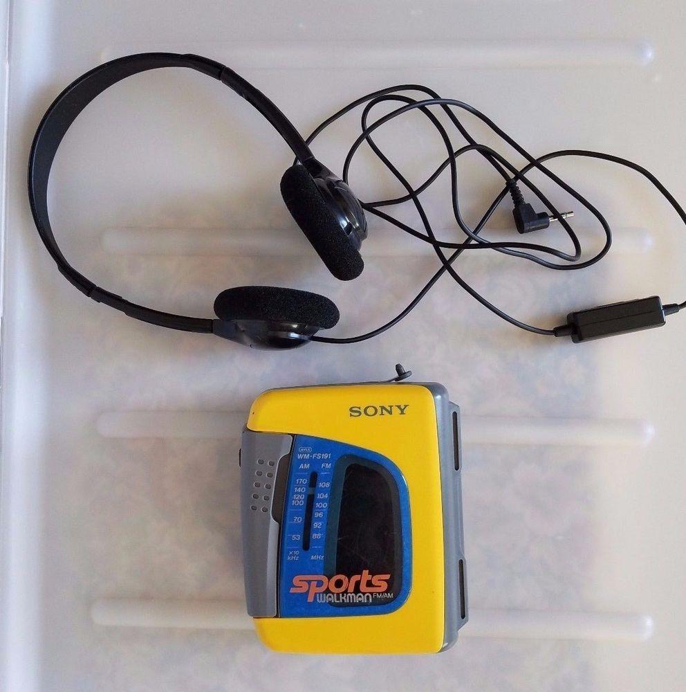 Details about Sony Walkman WM-FX423 Radio Cassette Tape