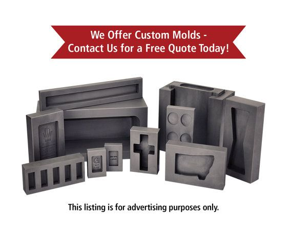 Design Your Own Custom Graphite Ingot Molds In Any Shape