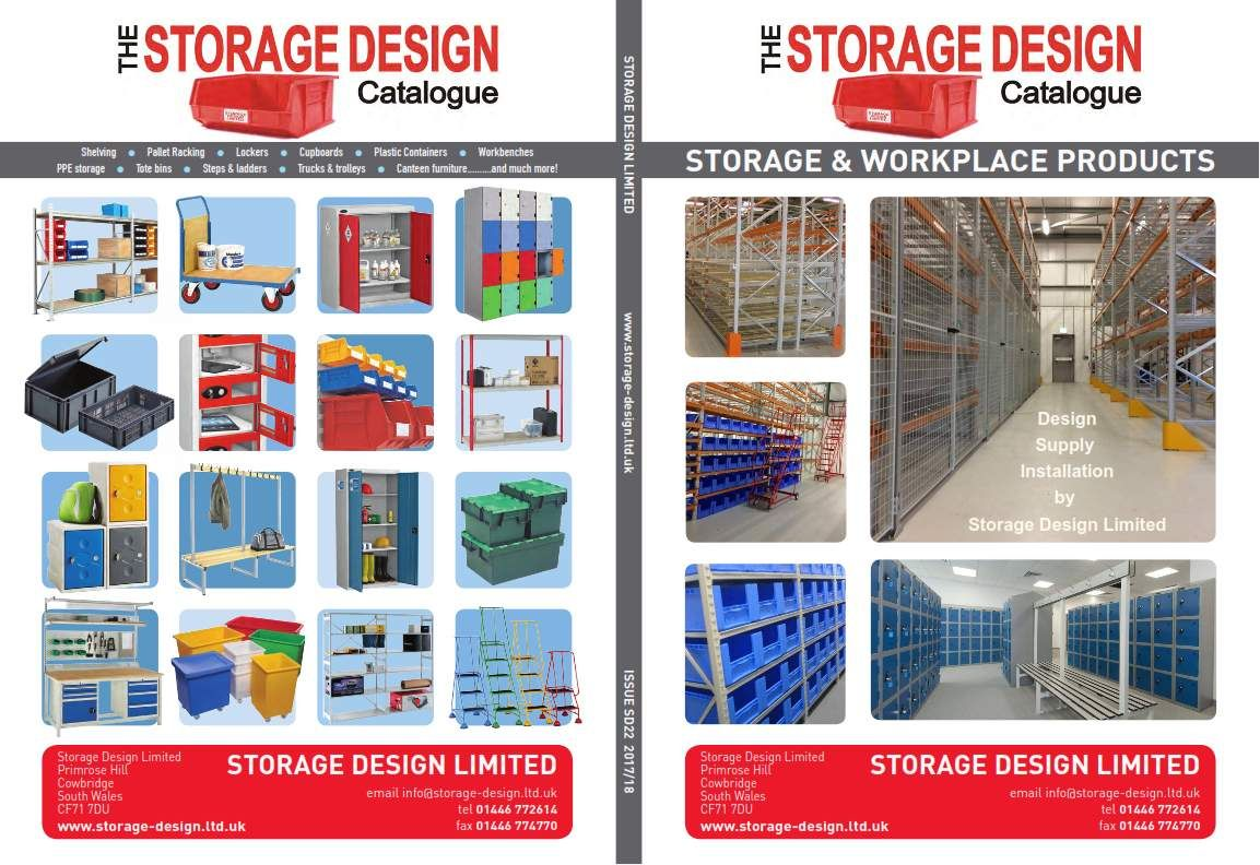 2017 Storage Design Ltd catalogue cover
