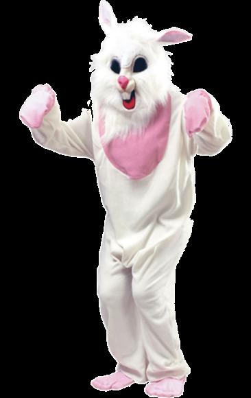 Plush Bunny White Rabbit Costume Easter Fancy Dress