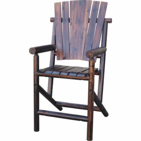 leigh country char log bar arm chair tractor supply co decor