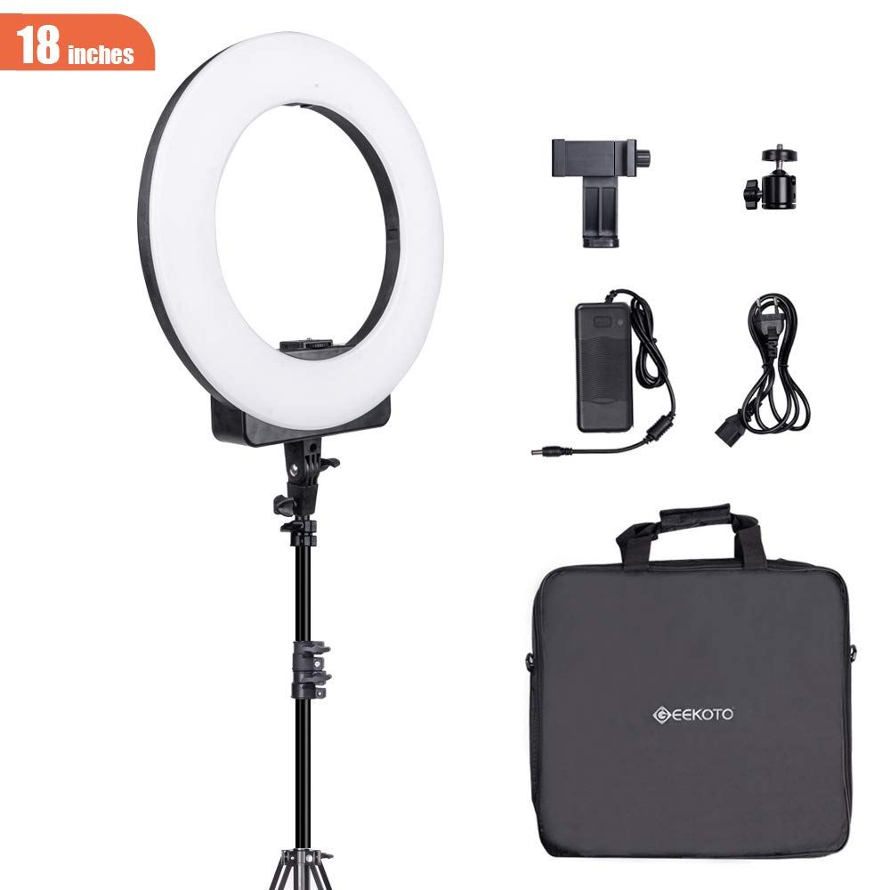 Photography Shooting Equipment Bundle Led Ring Light Ring Light With Stand Led Ring