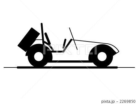 自動車 オープンカー 乗り物のイラスト素材 By 満重皓大 オープンカー 自動車 乗り物 イラスト