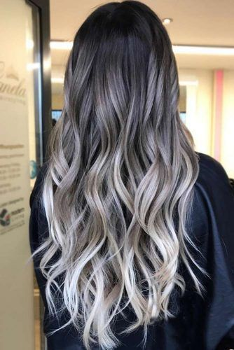 33 Try Grey Ombre Hair This Season 2020 Sac Sari Balyaj Sac Urunleri
