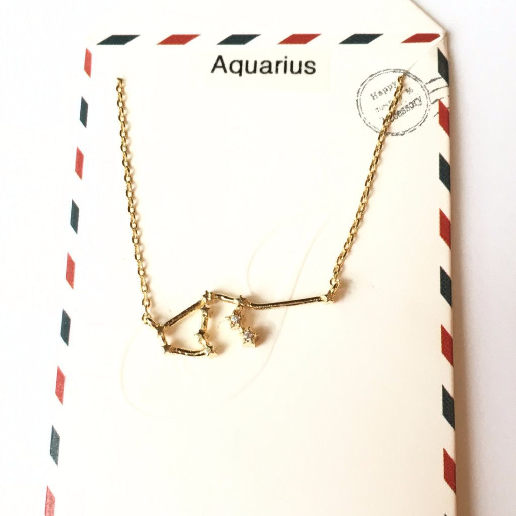 Constellations of the Zodiac Necklaces