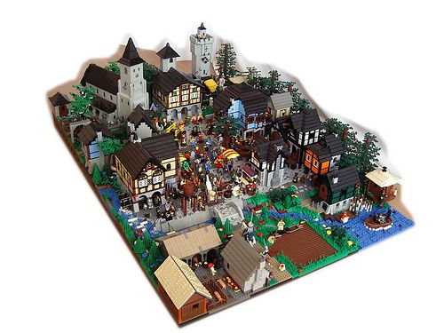 03 MMVD | Medieval market and Lego