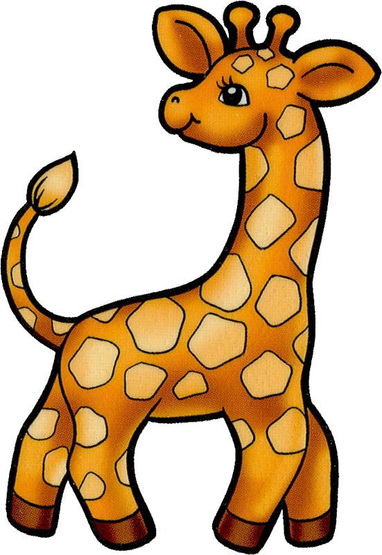 Картинки рисованные животные для детей