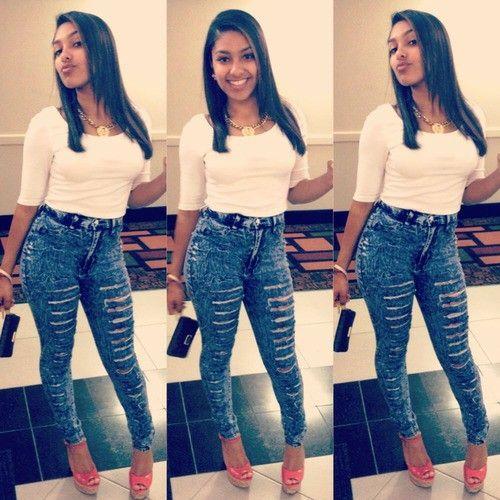 be5a98d1786 High waist jeans and crop tops | High waist jeans and crop tops ...