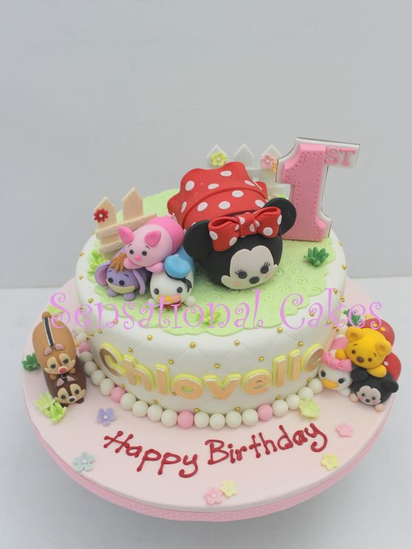 TSUM TSUM Sensational Cakes Singapore Tsum Tsum Pinterest