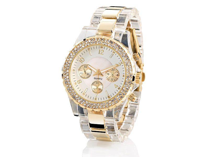 Armbanduhren damen gold gunstig