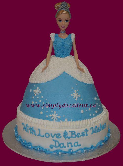 3D Buttercream Cinderella Cake Cakes Party Ideas Pinterest
