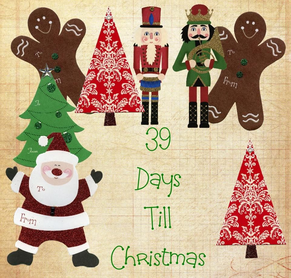 CHRISTMAS COUNTDOWN39 DAYS Days till christmas