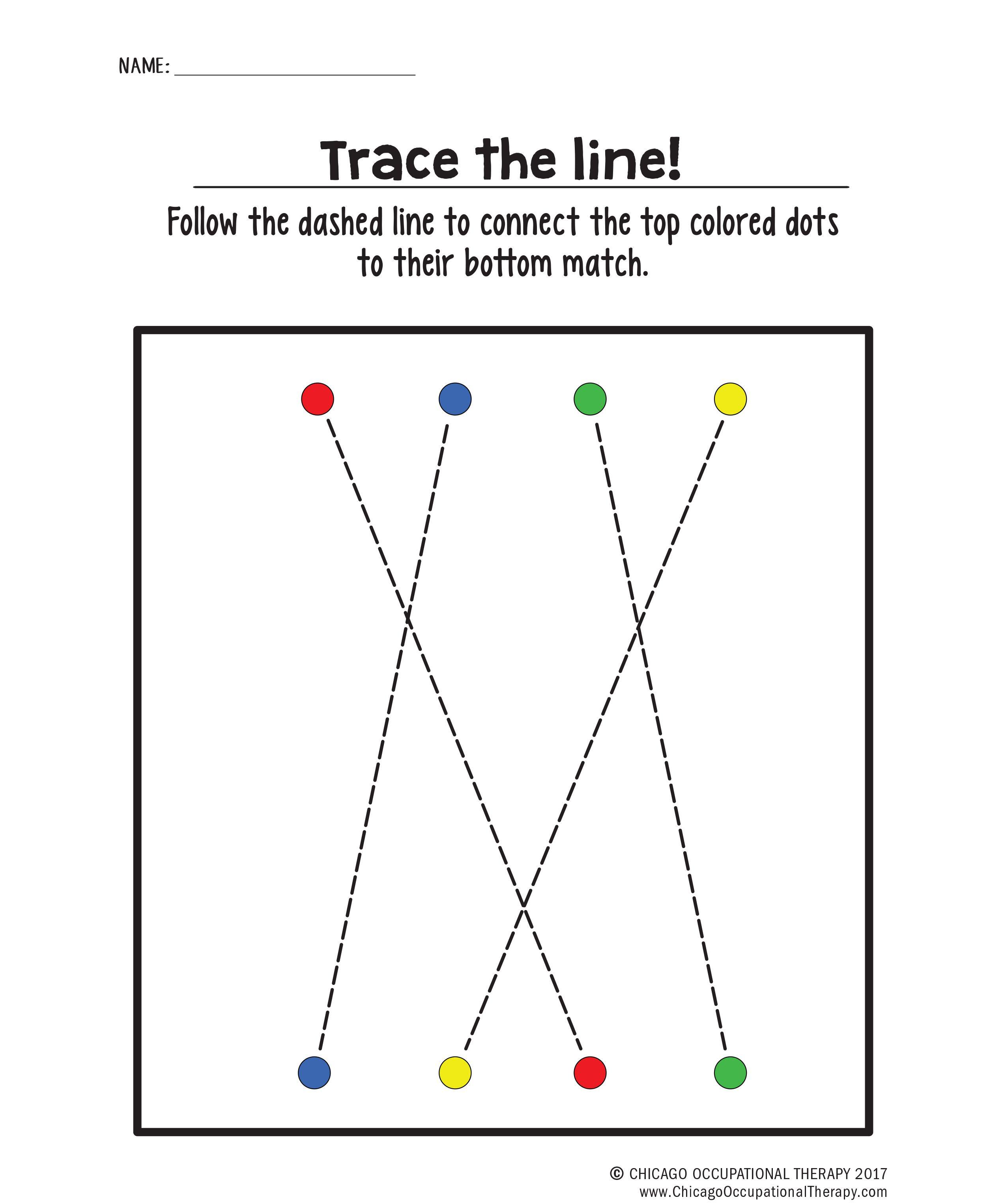 Tracing Book Activity Worksheets