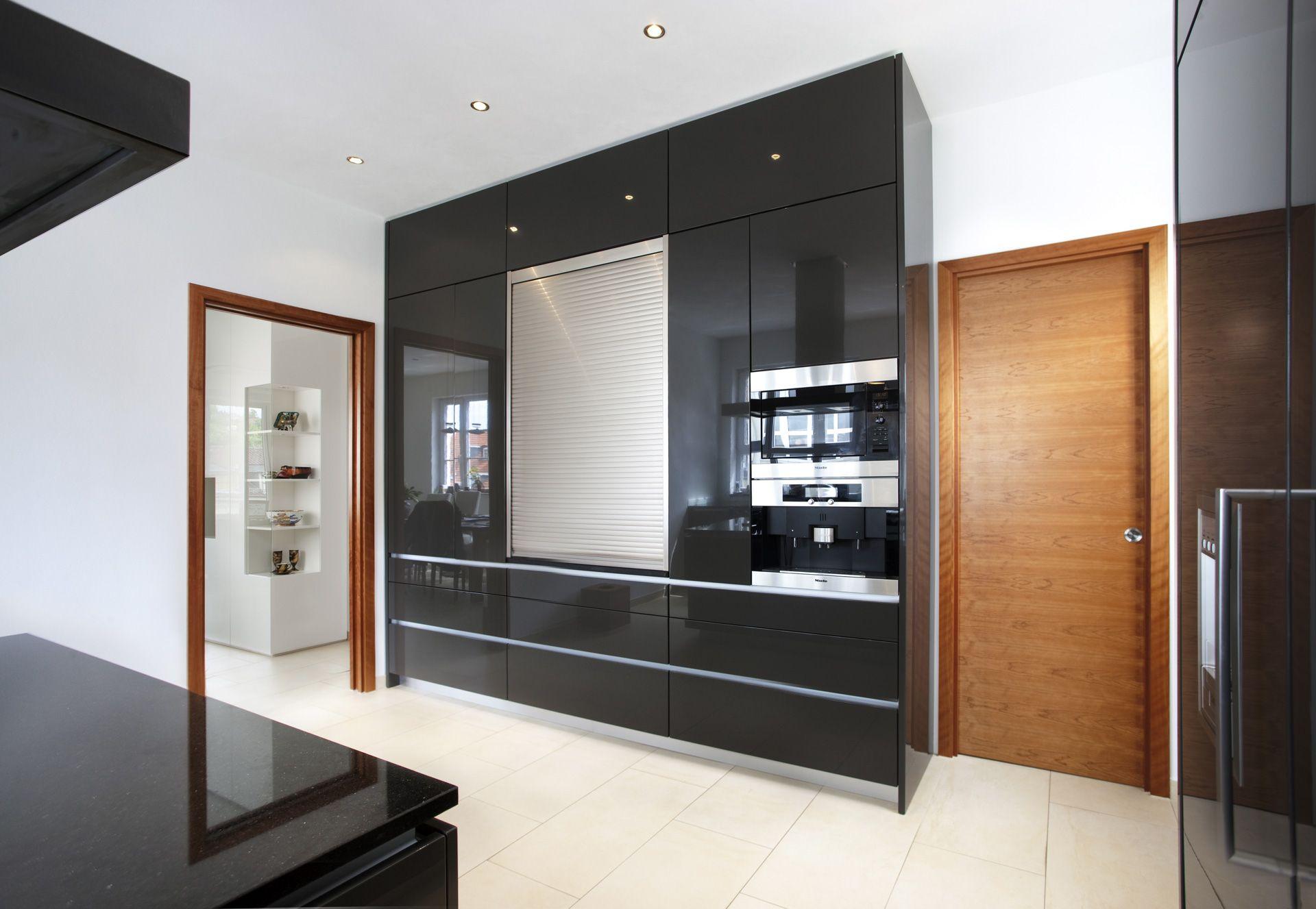 Küche Glas lackiert, Granit Galaxy | Firmenküche | Pinterest
