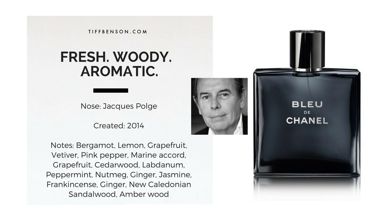 Tiff Benson Bleu De Chanel By Chanel Perfume Review Fragrances
