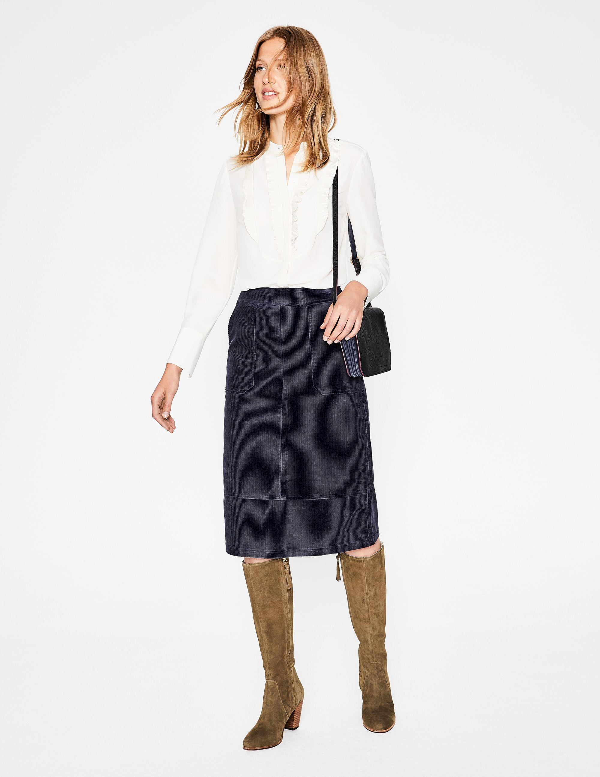 75566cbbea Burston Skirt T0183 Below Knee Skirts at Boden   wardrobe   Skirts ...