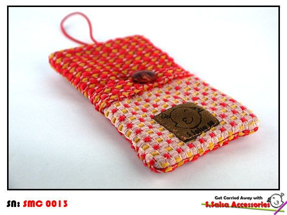 Dot Red Romance's iPhone 4 case by toSalsa on Etsy, $10.99