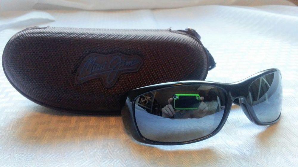 a7ca7409e0 Maui Jim Sunglasses mod. MJ 268 02E Third Bay Black Polarized and Case