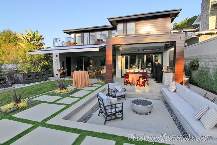 My visit to california and the sunset magazine idea house for the launch of behr marquee