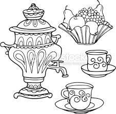 Resultado De Imagen Para Dibujos De Teteras Y Tazas Tea Cups How To Draw Hands Coloring Book Art