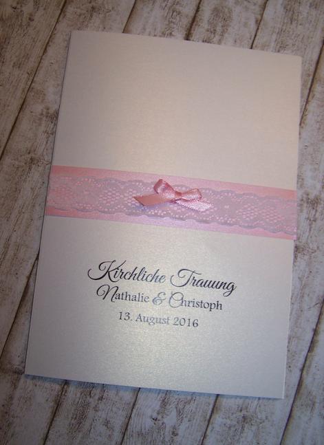 kirchenheft hochzeit vintage spitze rosa kirchenhefte pinterest wedding. Black Bedroom Furniture Sets. Home Design Ideas
