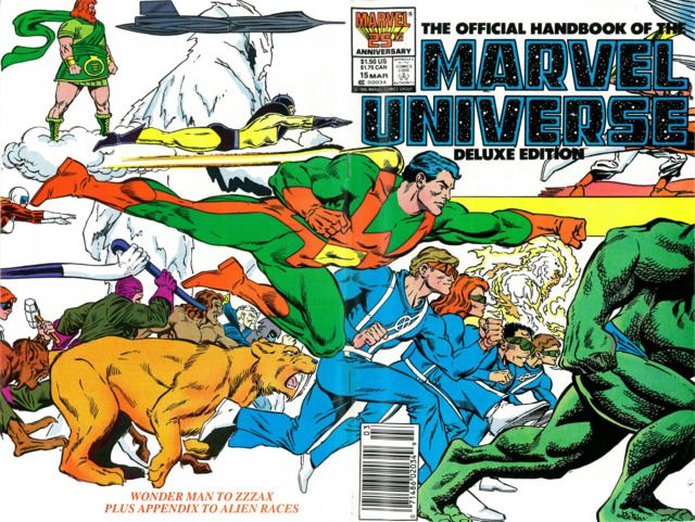 The Official Handbook of the Marvel Universe 15 Wonder