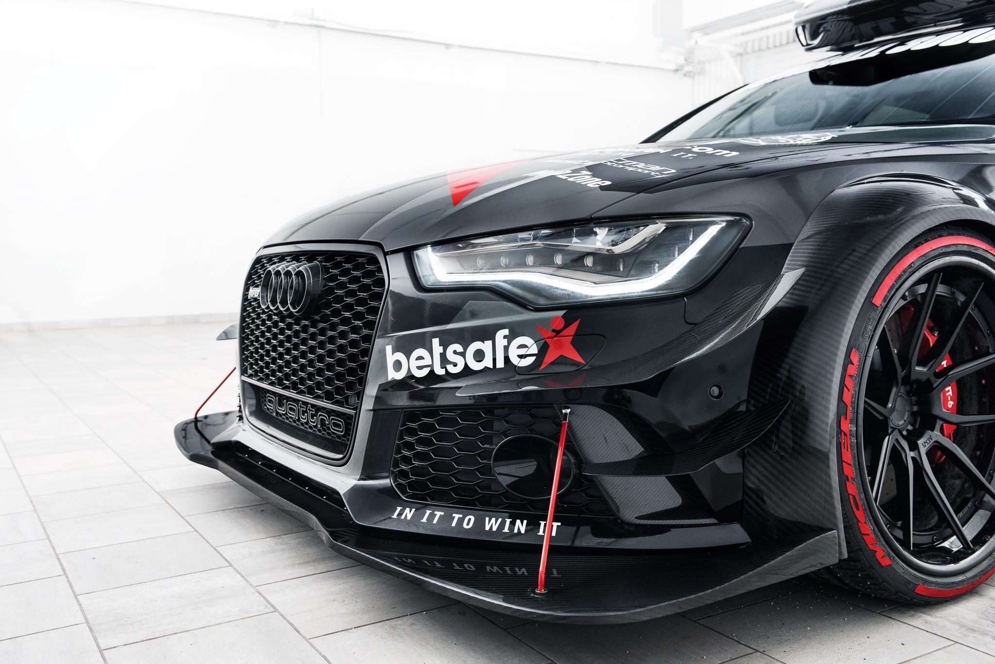 Jon Olsson opäť zabíja štýlik, toto je jeho brutálne 900-koňové Audi RS6 Avant DTM!