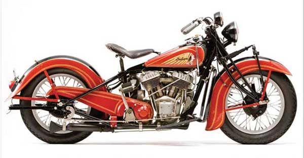 1938 Indian Chief Indian Motorcycle Indian Motorbike Motorcycle Harley
