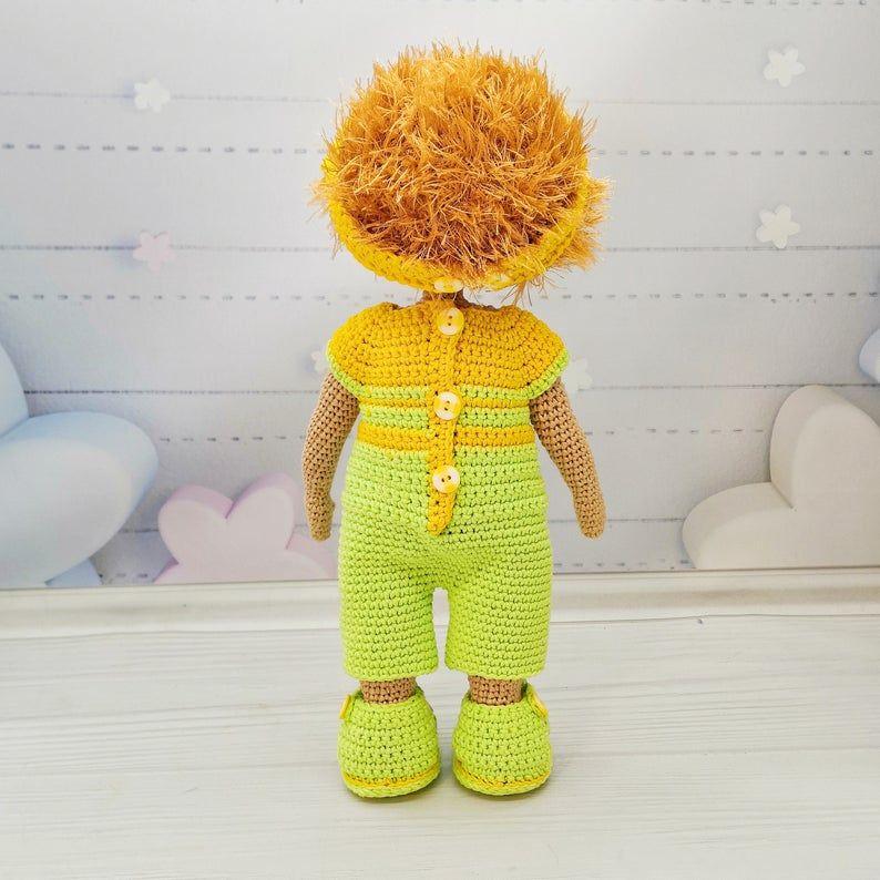 School Boy Amigurumi doll Crochet doll Amigurumi | Etsy | 794x794