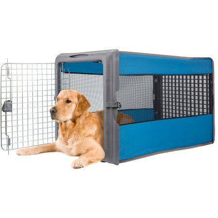 Sport Pet Large Travel Pop Open Pet Crate 36 L X 20 75 W X 22 H Walmart Com Big Dog Crates Large Dog Crate Pet Crate