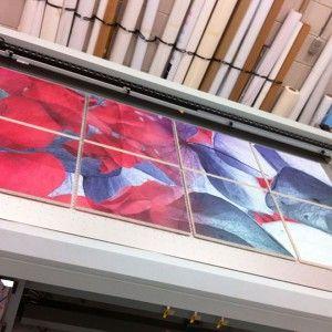 Print op plafondplaat - Rijnstate